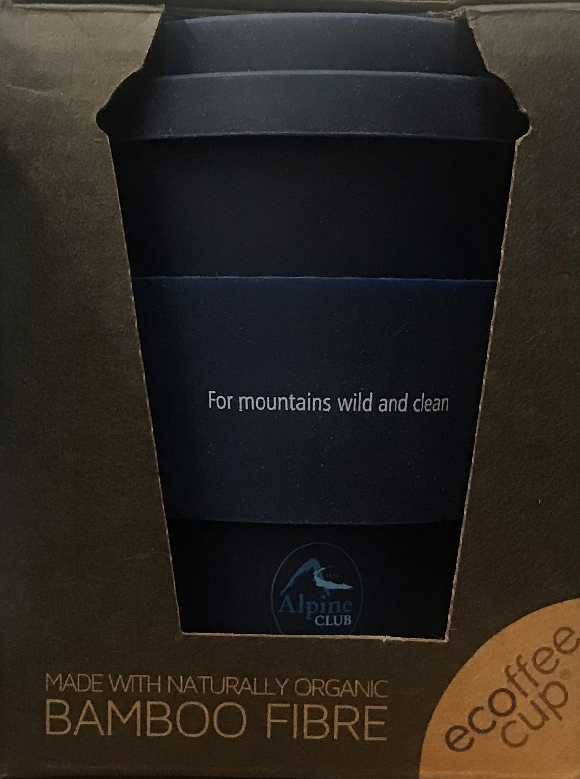 Alpine Club reusable cup