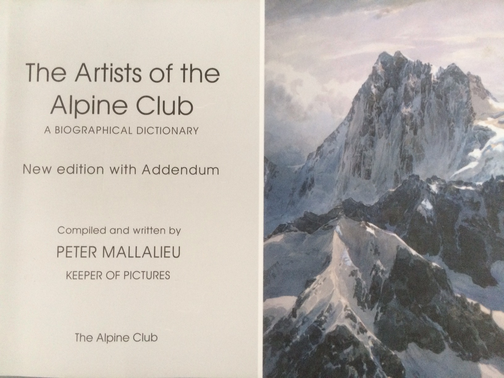 The Artists of the Alpine Club